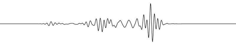 Low frequency seismic wave (© IPGP/ETHZ).