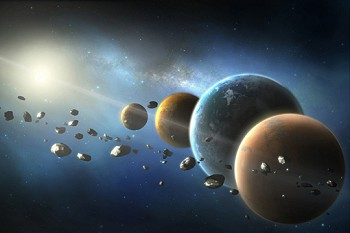 NASA's Discovery programme: low-cost missions to explore the solar system (© NASA).