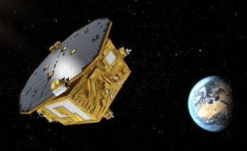 Artist's view of the LISA Pathfinder probe (© ESA/C. Carreau).